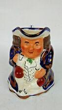 """Allertons England Toby Mug Antique porcelain Men Figurine Cup 4"""""""