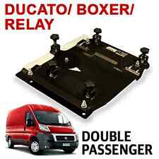 Kiravans Ducato / Boxer/ Relay Double Seat Swivel 2007- present (UK Right hand d