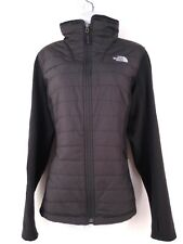 The North Face TNF Mashup Full Zip Jacket Black Fleece with Primaloft Puffer  L