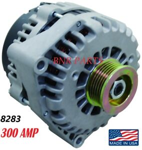 300 AMP 8283N CHEVY GMC ALTERNATOR Blazer S10 Jimmy Sonoma Bravada HIGH OUTPUT