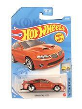 Hot Wheels 2021 HW Factory Fresh 5/10 Orange '06 Pontiac GTO New For 2021