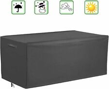 Patio Deck Box Cover Outdoor Cushions Cover, Waterproof Storage.