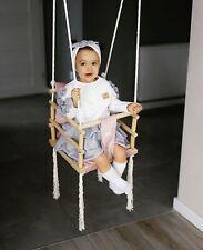 Swing Seat, Indoor Swing, Baby Swing, Wooden Toy, Swing Set 3 In 1 Child Swing
