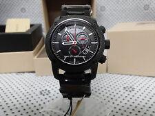 100% Authentic Men's  Burberry Sports Black  Chronograph Wristwatch  BU7703
