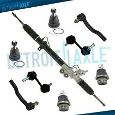 9pc Complete Power Steering Rack & Pinion Suspension Kit for Nissan Titan Armada