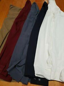MEN'S CHRISTOPHER GEORGE DRESS SHIRTS - SIZE L/XL - AUSTRALIAN MADE (5SHIRTS)