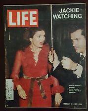 Jackie Kennedy Onassis Life Magazine February 12 1971