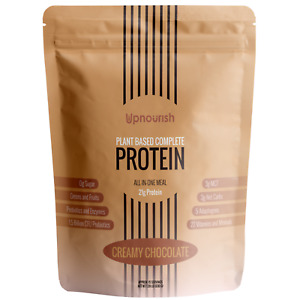Vegan Plant Based Complete Protein Meal Replacement Shake Chocolate Gluten Free