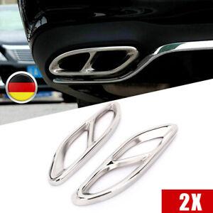 Auspuffblende Auspuff Abdeckung Für Mercedes A B C E GLE GLC C207 W212 W205