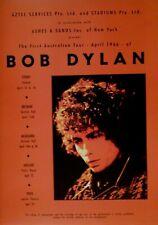 Bob Dylan concert promo poster - First Australian tour April 1966