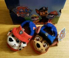 Authentic Nickelodeon paw patrol boys slippers size 5/6 New in Box free shipping