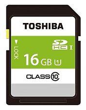Toshiba 16GB SDHC Class 10 UHS 1 Tarjeta de Memoria