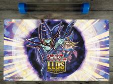 Dark Magician Girl & Dark Magician YuGiOh LLDS TCG Playmat Mat Free Best Tube