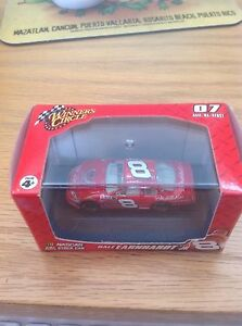 Winner's Circle Nascar 1:87 Scale Dale Jr. #8 Red with Display Case  07