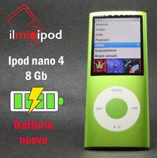 Ipod nano 4 da 8 Gb - Batteria sostituita con una nuova
