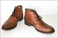 REDSKINS Bottines Boots Cuir Patiné Marron T 44 BE