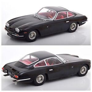 1/18 KK Scale Lamborghini 400 GT 2+2 1965 Noir Éd Limitée 750Ex Livrais Domicile