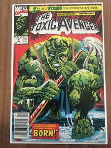 The Toxic Avenger #1 Peter Dinklage Movie Coming Newsstand Variant VF Condition