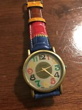 Vintage Carvel Ladies Watch Leather Band 32mm