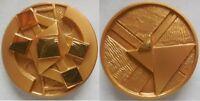 medaglia scultura i 5 soli di Giò Pomodoro