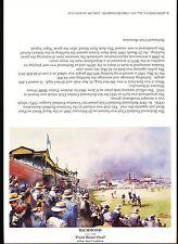 Richmond Ground Greeting Card Punt Road Oval 1949 Paul Crompton Artist