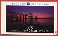 1989 DX10 £5 Scots Connection Prestige Booklet