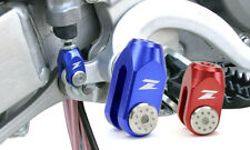 Zeta Freno Trasero Horquilla Honda Cr Crf 125 150 250 450 Barata Anodizado Rojo Y Azul