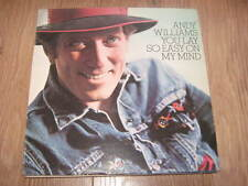"ANDY WILLIAMS "" YOU LAY SO EASY ON MY MIND "" VINYL LP 1974"