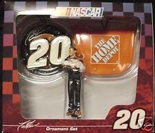 NASCAR*Tony Stewart #20* 3pc SET ~Tire Hood Figure~Home Depot*Collectible*