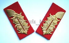 Deutscher General DDR STASI NVA Uniform -Kragenspiegel German army collar tabs