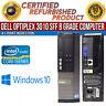 Dell OptiPlex 3010 SFF Intel i5 8GB RAM 500GB HDD Win 10 USB VGA B Grade Desktop