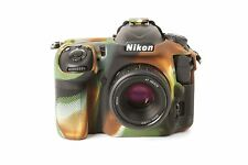 Camera silicone cover Camouflage for Nikon D500+ Screen Protectors.
