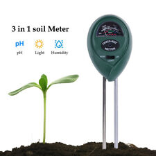 4 in 1 Moisture Light PH Meter Plant Flowers Garden Soil Analyzer Tester Tool IN