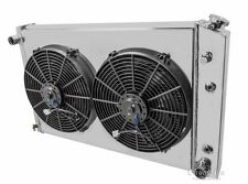 3 Row Radiator with Fan(s) and Fan Shroud For 81-90 GM Truck