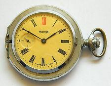 "VERY RARE SOVIET 18 JEWELS 3602 POCKET WATCH - ""MOLNIJA"" USSR 1970's"