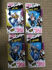 """4 ~ Official New Kids on the Block Poseable Dolls Figures (about 5"""" tall)"""