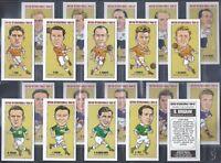 NEILL-FULL SET- BRITISH INTERNATIONALS 1950-52 - FOOTBALL (20 CARDS) - EXC+++