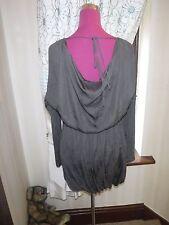 Beautiful  All Saints Solstice  Dress Brown Size 10 Excellent Condition