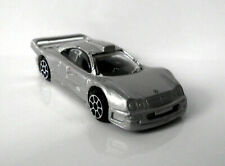 °° Maisto - Mercedes CLK-GTR Street Version - silber - 1:64 °°