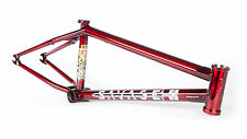 """FIT BIKE CO SAVAGE FRAME 21 TRANS RED ETHAN CORRIERE EDITION 21"""" BMX BIKES"""