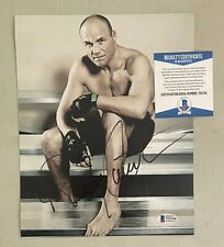Randy Couture Signed 8x10 UFC MMA Photo Autographed AUTO Beckett BAS COA