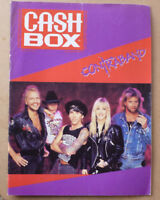 1991 CASHBOX MUSIC MAGAZINE FEATURING CONTRABAND