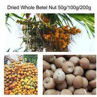 Ceylon Organic Dried Whole Betel Nut Suparii FREE SHIPPING