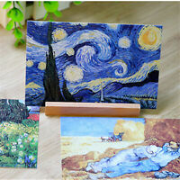 30pcs/Set Vintage Poster Van Gogh Famous Painting Postcard Wall Decoration Cards