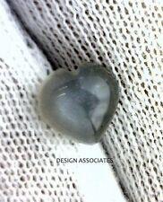 NATURAL GRAY MOONSTONE 8 MM HEART CUT AAA