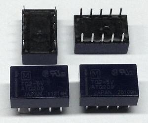 2 Stück TQ2-5V Panasonic Kleinsignal-Relais (M3842)