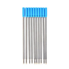 10Pcs Cross Type Ballpoint Pen Refills Ink Medium & Blue Great HP