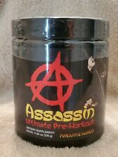 Assassin 6.0 Pre-Workout Anarchy Labs Apollon Nutrition High Stim RARE SOLD OUT