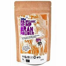 Plant Based Organic Chanvre Bran poudre-Haute Teneur en fibres-Protéine-RAW -...