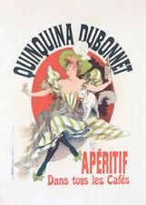 Quinquina Dubonnet by Jules Cheret 90cm x 64cm Art Paper Print